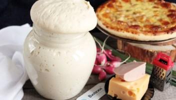тесто с сухими дрожжами на пиццу