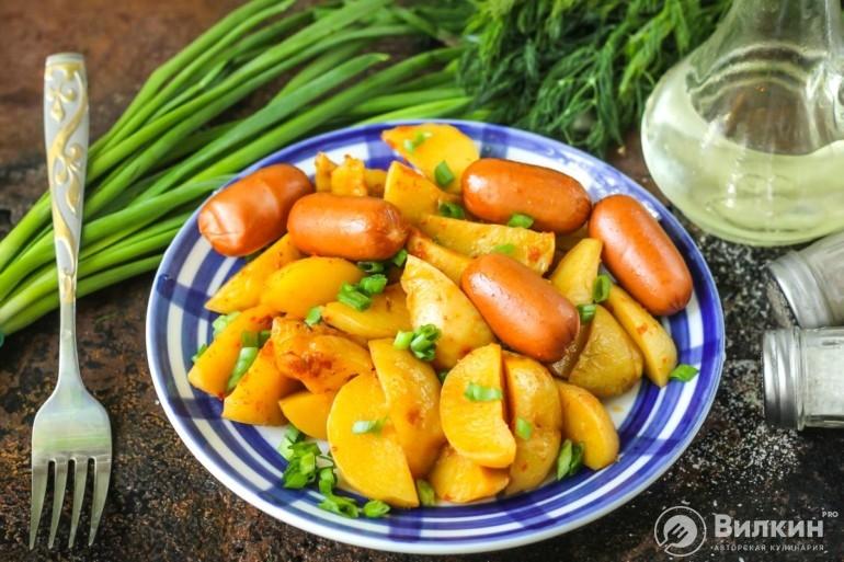 Картофель в микроволновке: быстро и просто