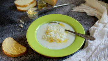 рисовый суп на молоке