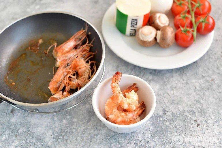 очистка морепродуктов