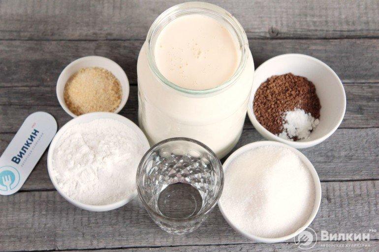 ингредиенты для крема