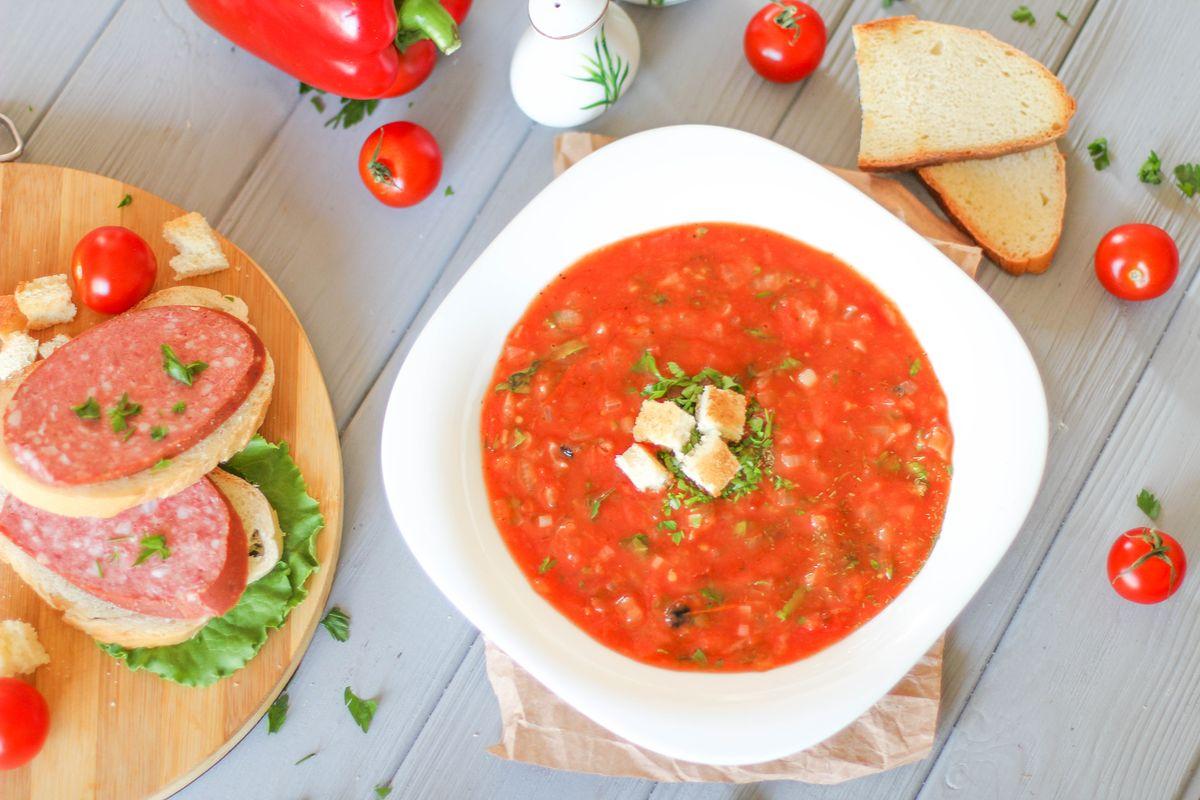 суп из томатов рецепт с фото ситуация возникает том