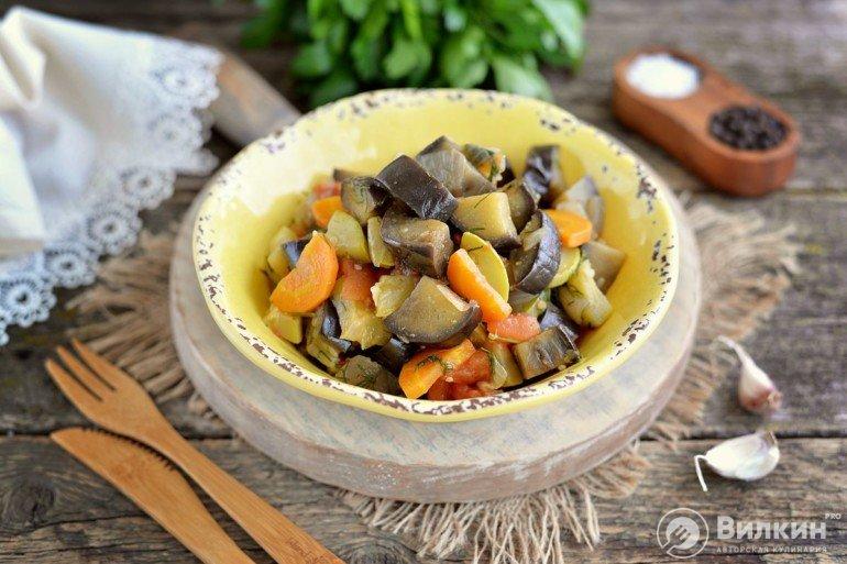 порция овощного рагу