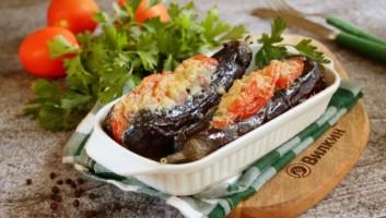 фаршированные баклажаны с мясом