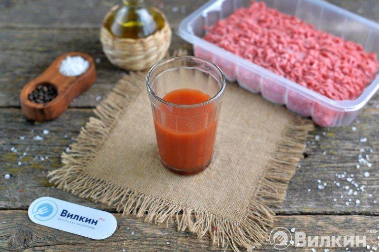 томат с бульоном