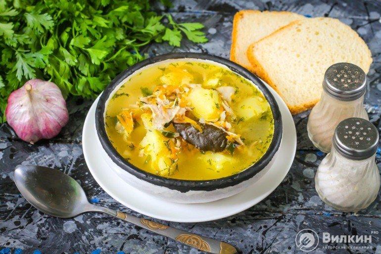 порция наваристого супа