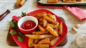 запеченная картошка в духовке на противне