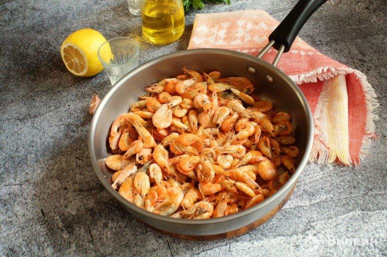 добавление мелких моллюсков