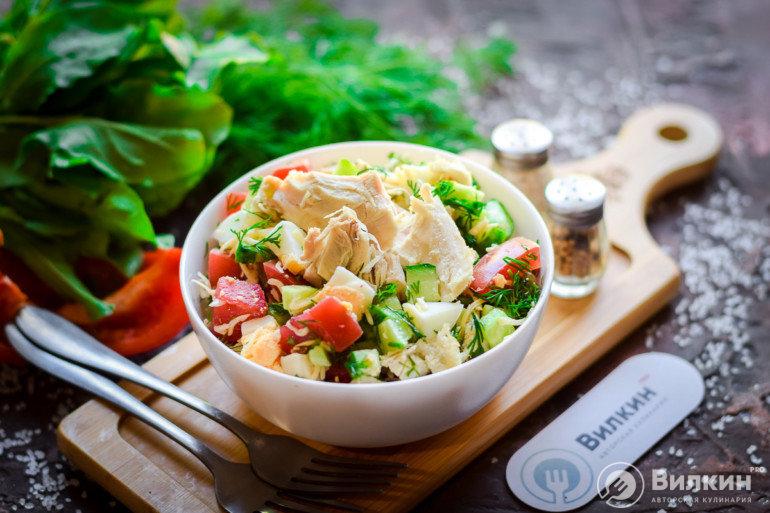 порция диетического салата