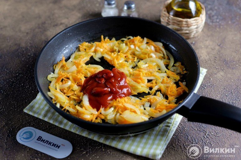 введение томатного соуса