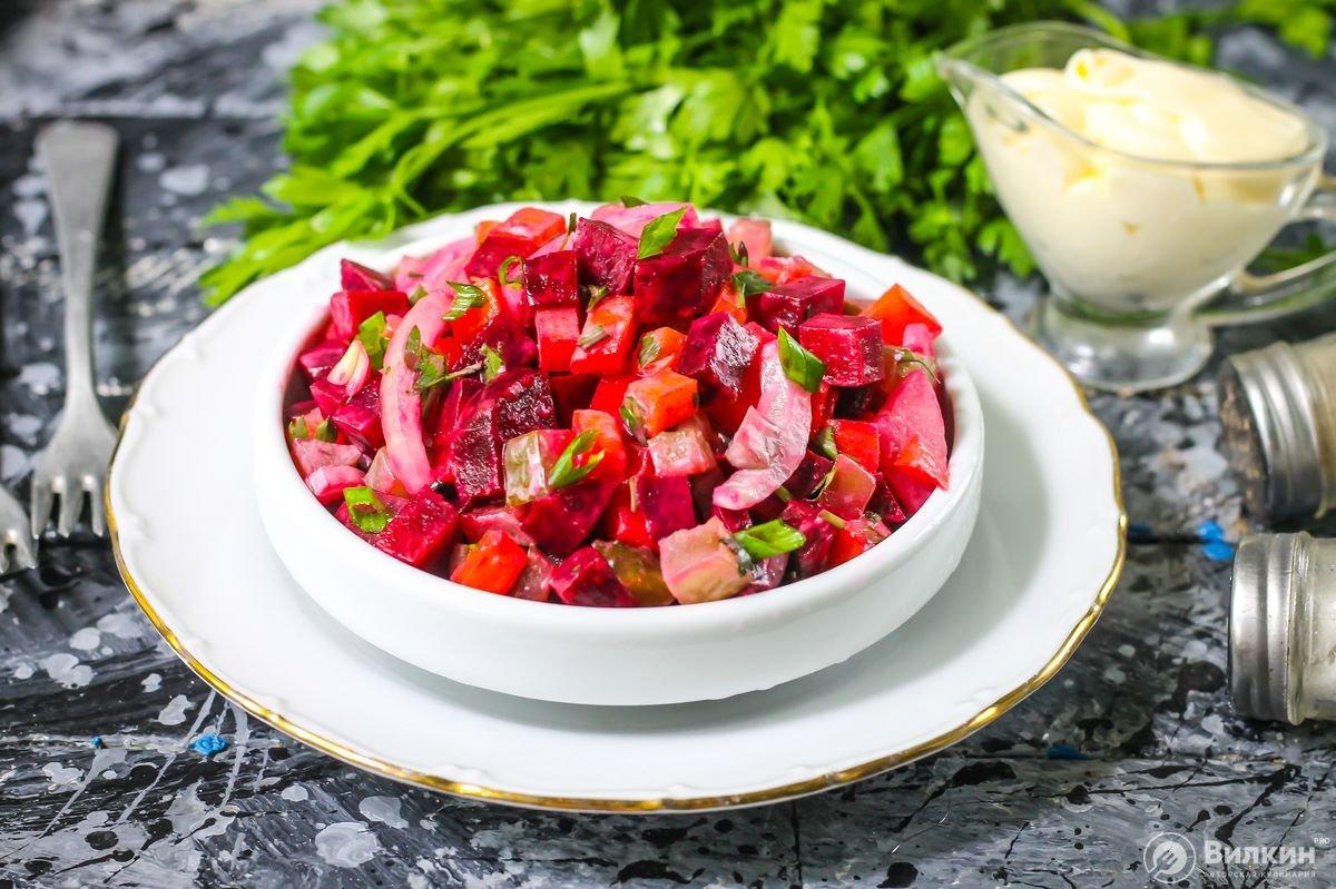 салаты из свеклы вареной рецепты с фото рецепт польского заварного