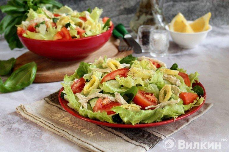 готовый праздничный салат
