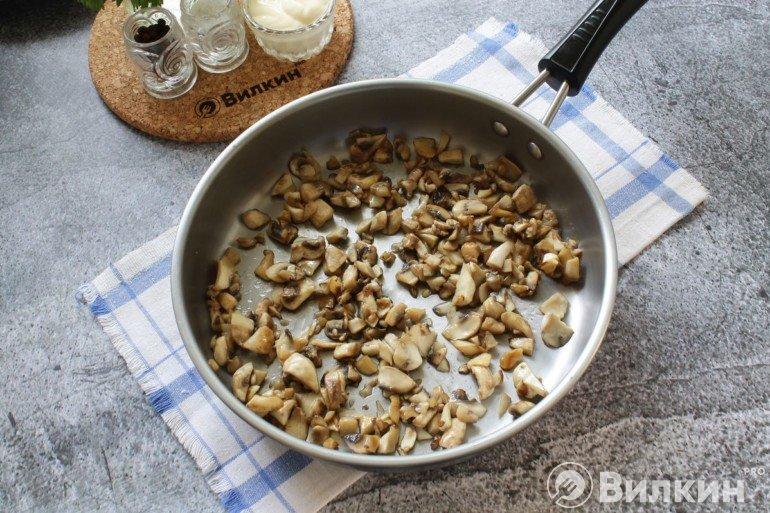 румяные грибы