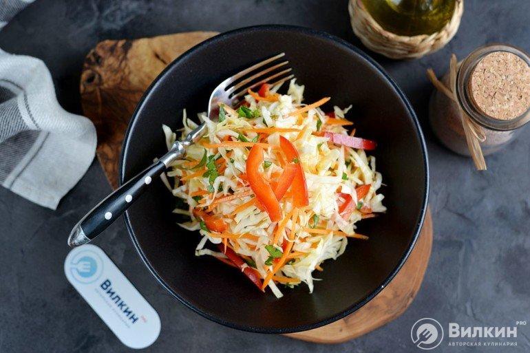 порция овощного салата