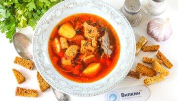 украинский борщ с говядиной без капусты