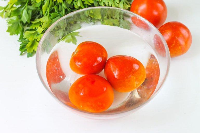 ошпаривание томатов