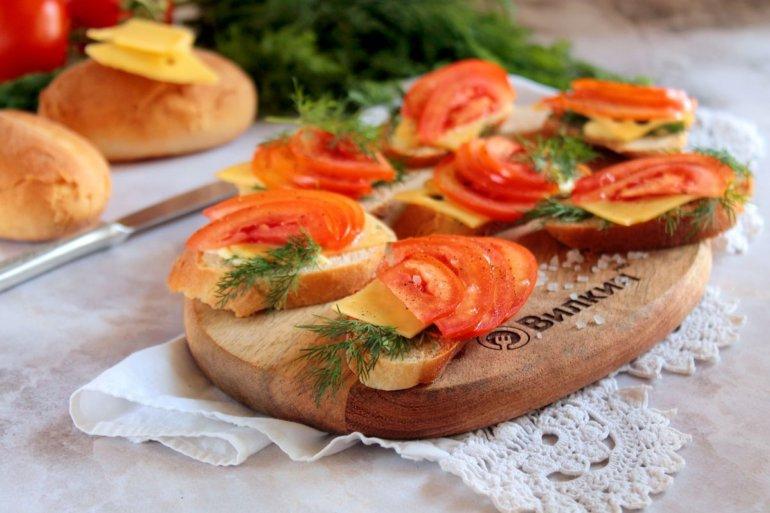 легкие бутерброды на завтрак