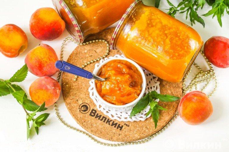 Персиковый джем на зиму
