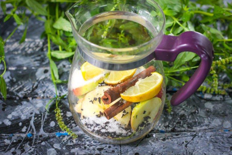 закладка лимонных долек