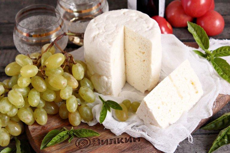 головка сыра в разрезе
