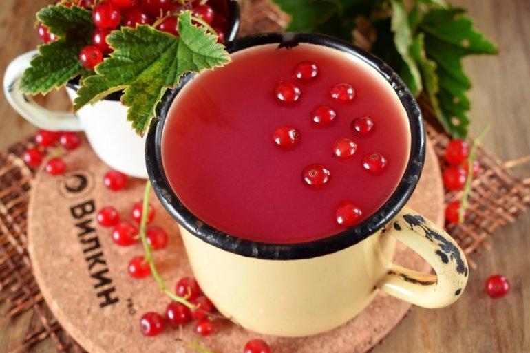 кисель из ягод смородины с крахмалом