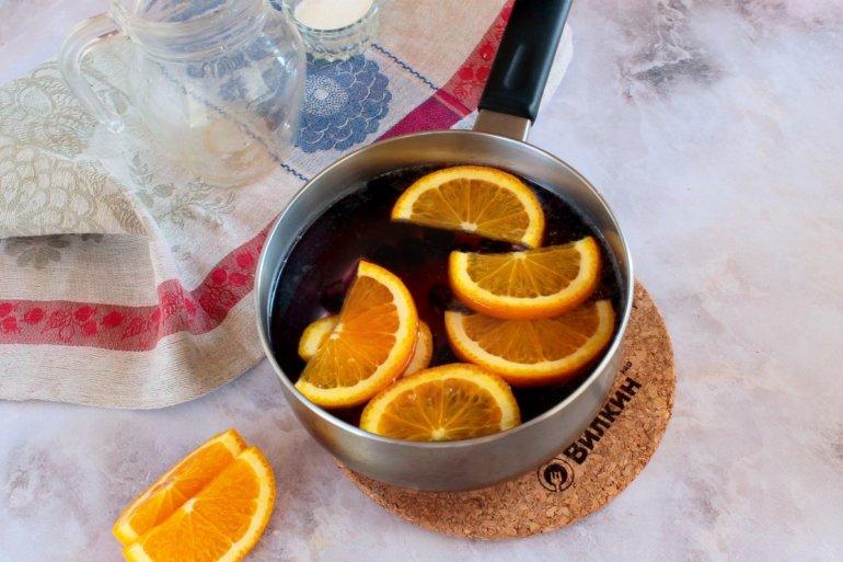 добавление апельсина