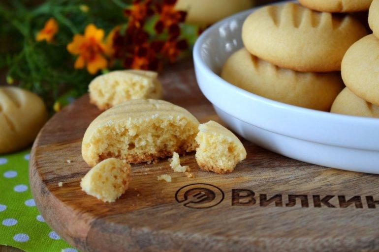 простое печенье из кукурузной муки