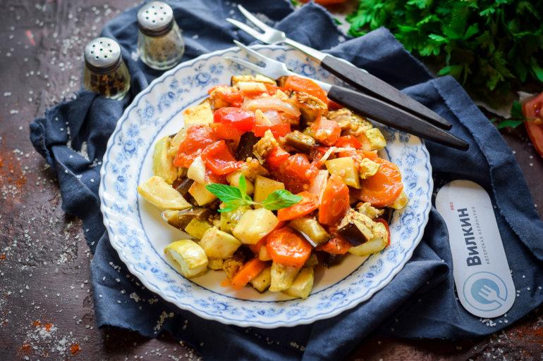 запеченное рагу из овощей