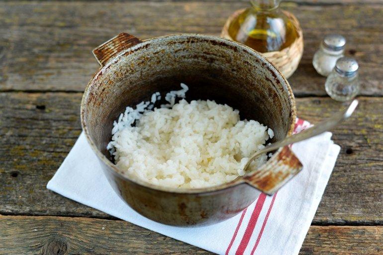 разрыхление рисовой каши