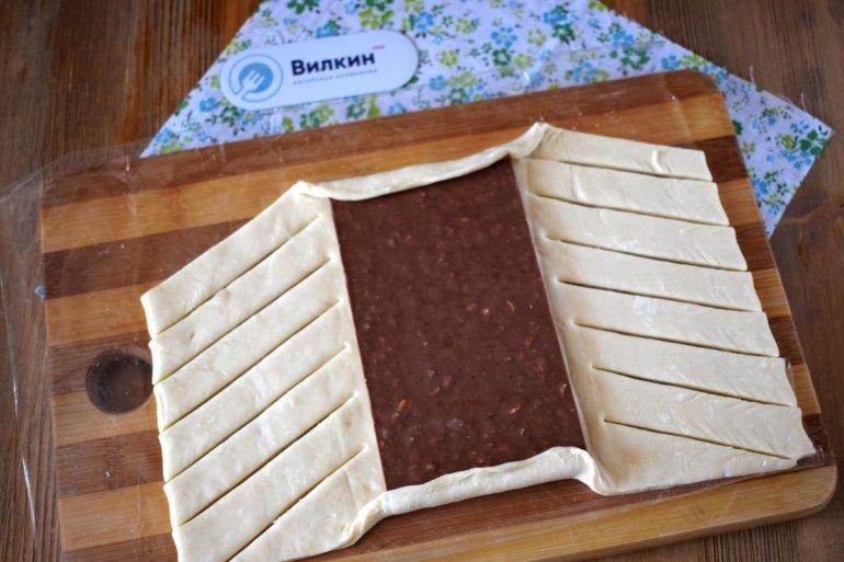 каждый шоколад в слоеном тесте рецепт с фото узнать