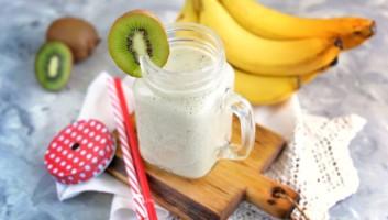 смузи из киви с бананом