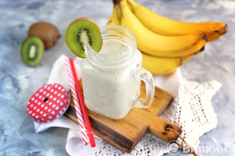 Смузи из киви и банана
