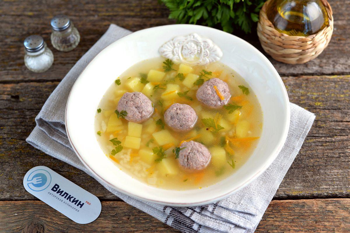суп с фрикадельками с картинками очень