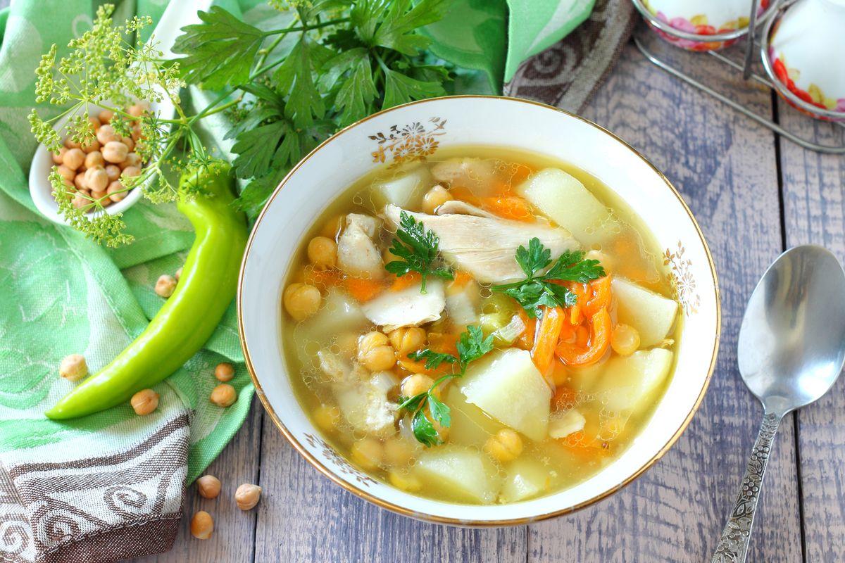 суп из нута рецепты приготовления с фото клубы