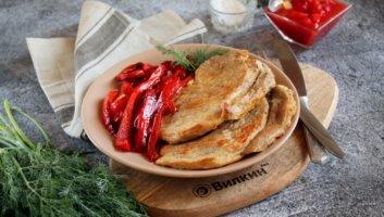 жареная свинина с болгарским перцем