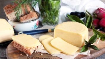 сыр из молока и творога