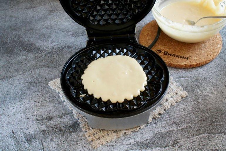выпечка вафель