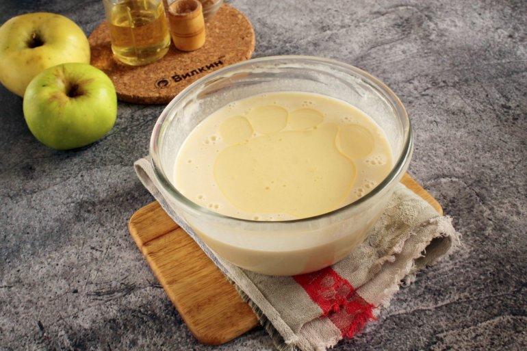 готовое тесто для блинчиков на молоке