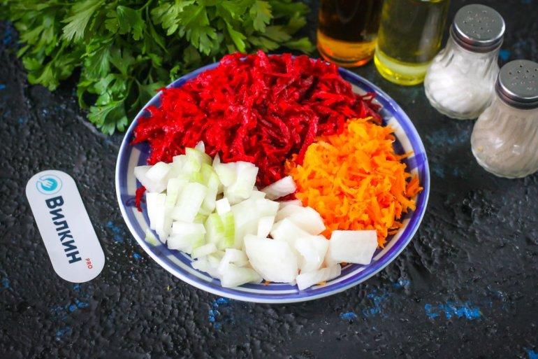 овощные нарезки