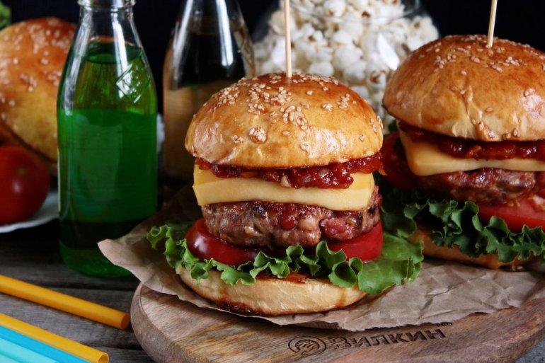 Гамбургер рецепт в домашних условиях с фото