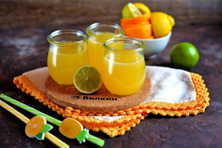 Лимонад из апельсинов, лайма и лимона в домашних условиях