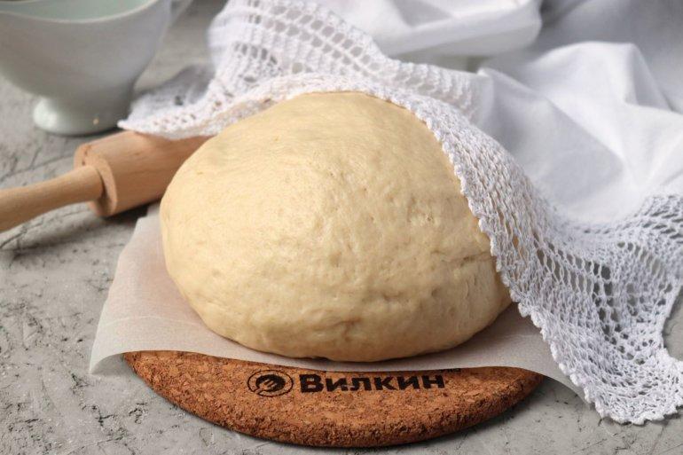 Дрожжевое тесто на майонезе
