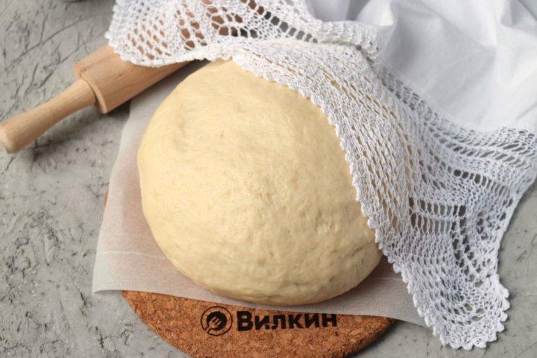 готовое тесто на дрожжах и майонезе