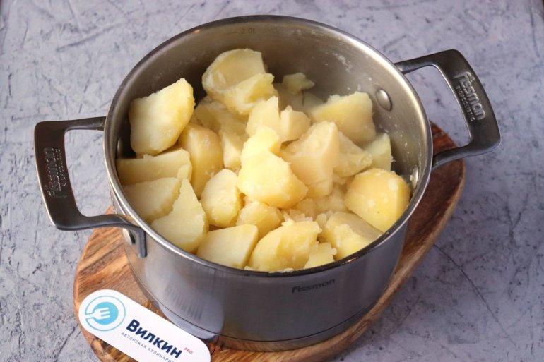 готовая картошка