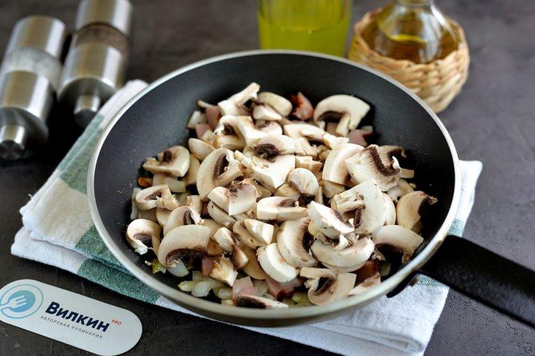добавление грибов