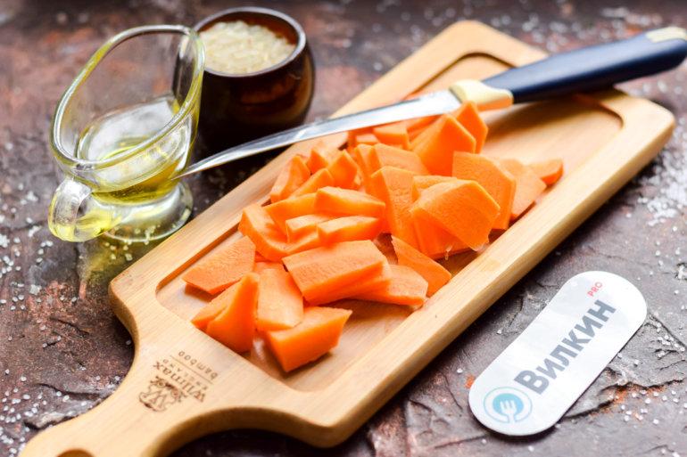 морковные бруски