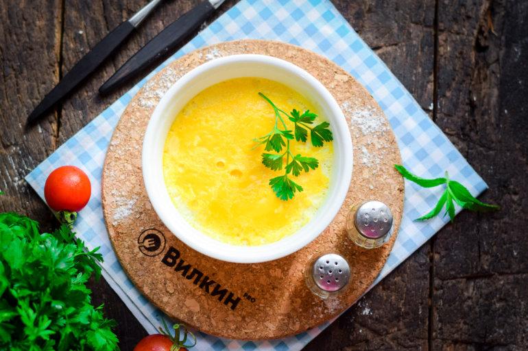 паровой омлет без добавок