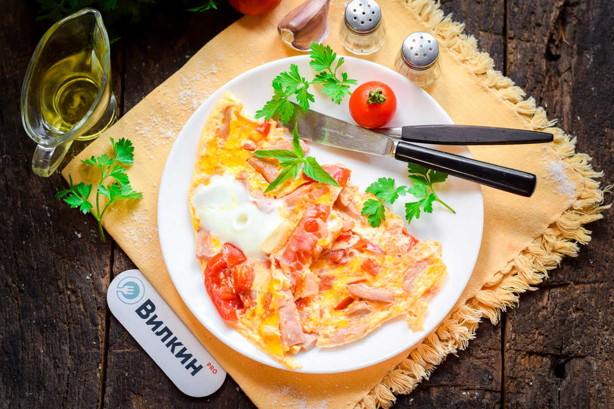 Омлет из помидоров рецепт с фото вас компании