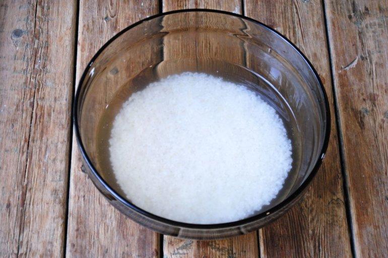 мытье риса