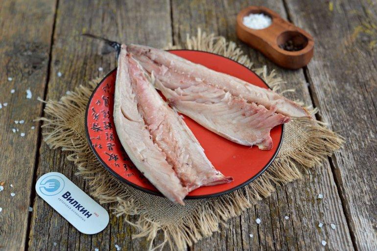 разрезка рыбной тушки